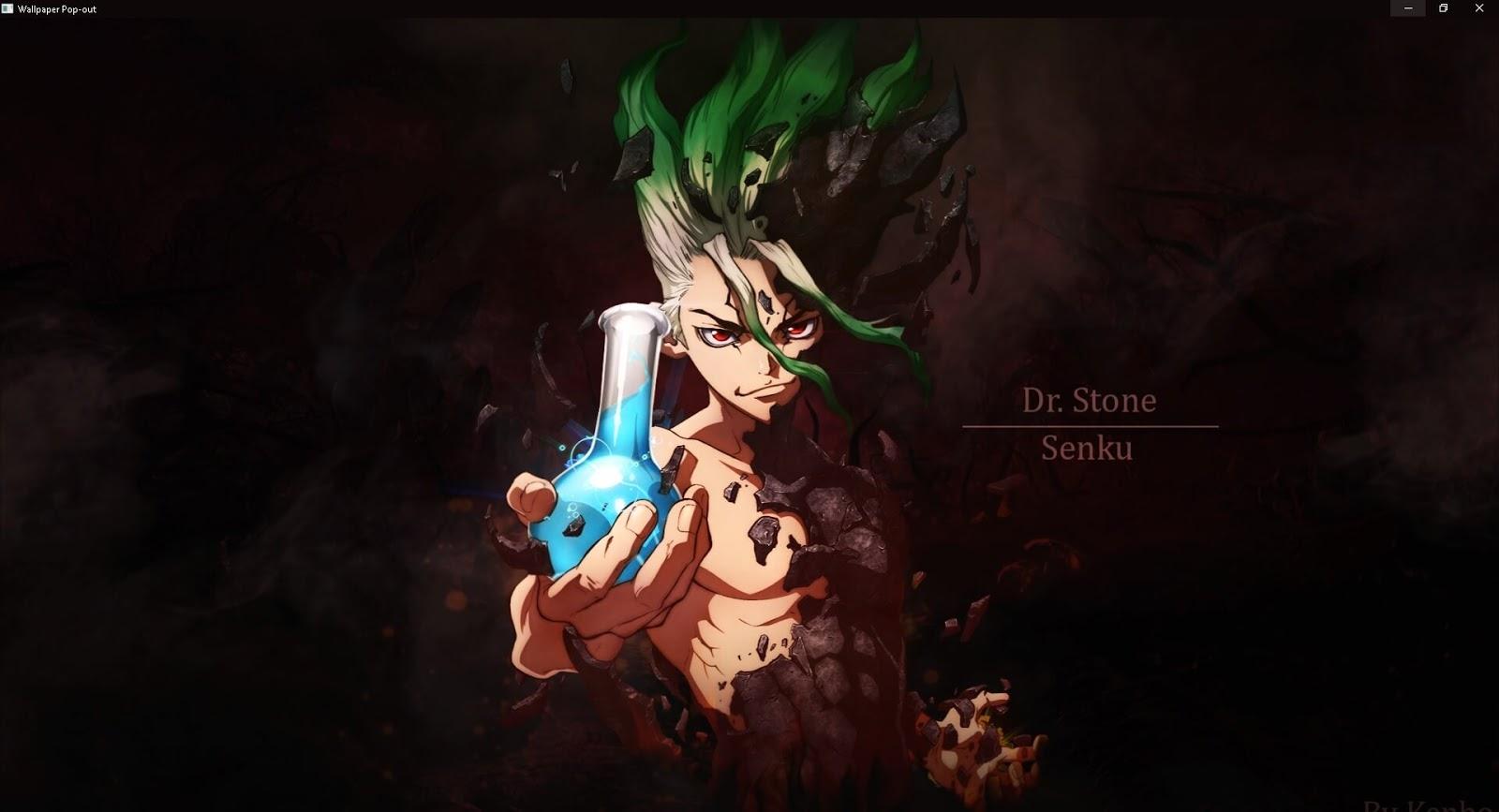Dr Stone - Senku [Wallpaper Engine Anime]
