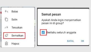 Cara Menyematkan Pesan di Telegram Mudah