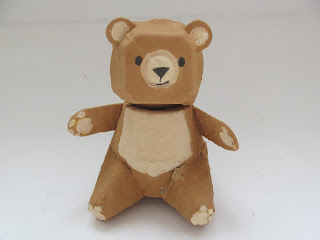 egg carton bear