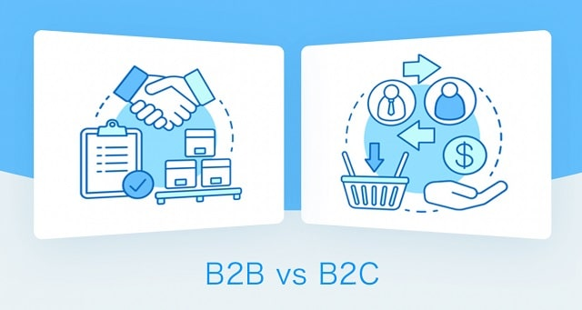 b2b vs b2c marketing strategies