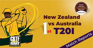 Aus vs NZL 1st International T20 Today Match Prediction 100% Sure Winner