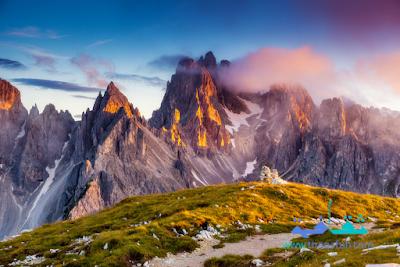 صور مناظر طبيعية عن الجبال