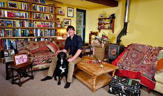 Inside the room of Anya Reeve's husband Simon