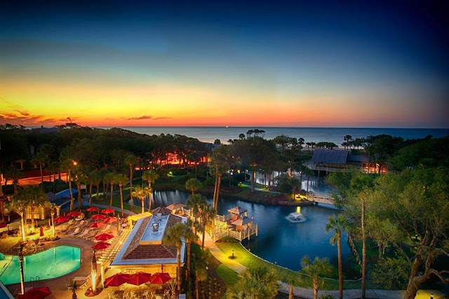 Sonesta Resort Hilton Head Island, South Carolina is an AAA Four Diamond beach resort with amazing view of Hilton head beach & tropical gardens.