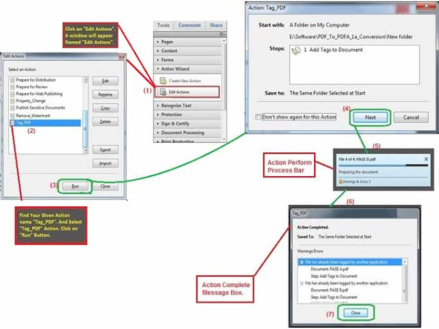 Run process for Tag To PDF