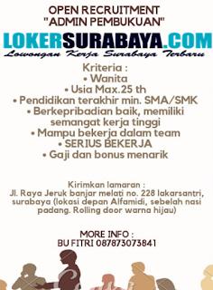 Loker Surabaya Terbaru di CV. Sukses Wijaya Surabaya Juni 2019