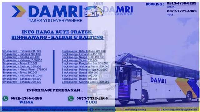 Damri Singkawang: Jadwal, Harga Tiket & Rute ke Bandara