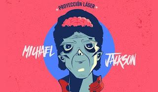 Michael Jackson ¡Nuevo Show Laser del Planetario de Bogota!