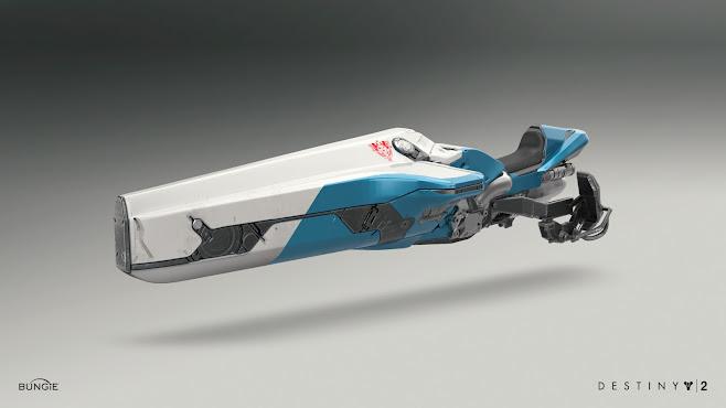 Destiny 2 Sparrow 'Parade' by Alex Figini