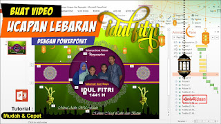 Video Ucapan Hari Raya Idul Fitri Power Point