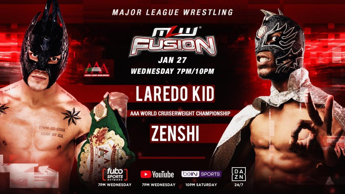 Cobertura: MLW Fusion (27/01/2021) – Direto do México!