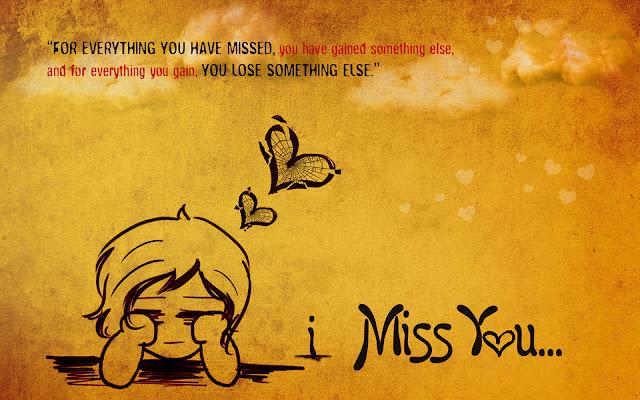 I Miss U Wallpaper