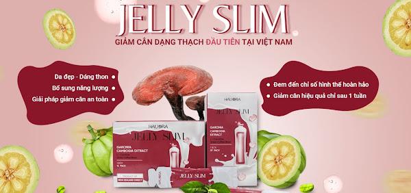 Thạch giảm cân Jelly Slim  hiệu quả tích cực ngay từ lần sử dụng đầu tiên