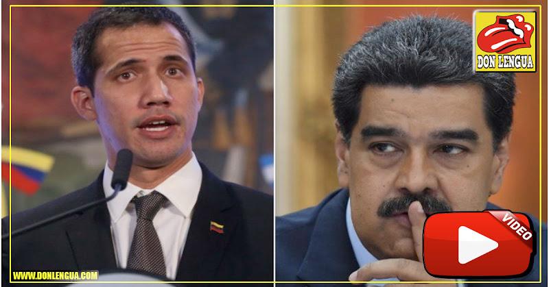 Juan Guaidó solicitó que se comience el juicio internacional contra Nicolás Maduro