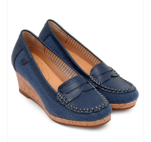Bany Flat Wedge Shoes