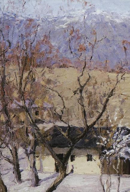 Исаак Ильич Левитан - Зимой в Крыму