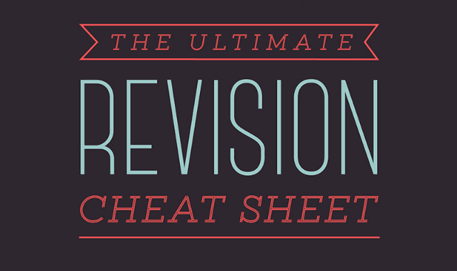 The Ultimate Revision Cheat Sheet