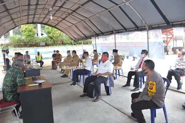 Penanganan Covid 19, TNI-POLRI Siap Bantu Pendistribusian Sembako