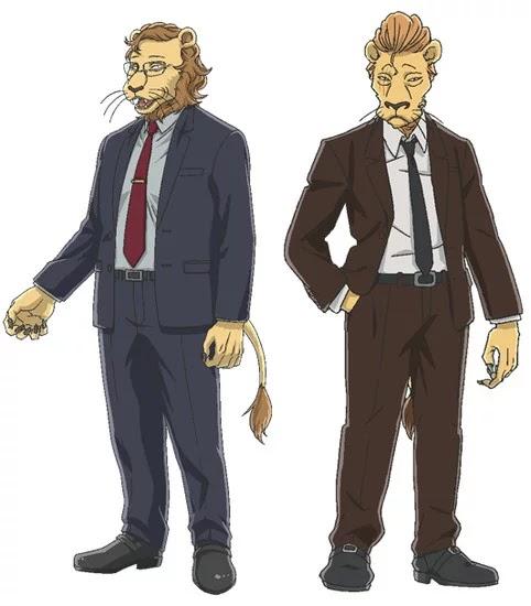 Taiten Kusunoki como Ibuki (izquierda) y Subaru Kimura como Free (derecha)