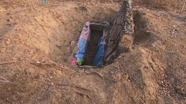 Семья выкопала тело умершей дочери и выдала ее замуж за мертвеца