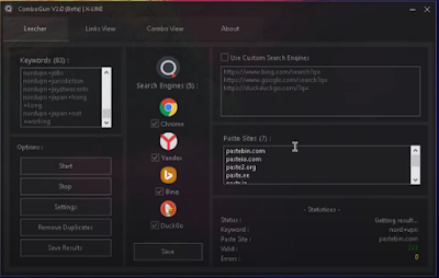 ComboGun V2.1 (Beta) By X- Łɨnɇ [ Best HQ Combo Leecher ]