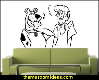 SCOOBY DOO Wall MURAL Vinyl Decal Sticker KIDS ROOM