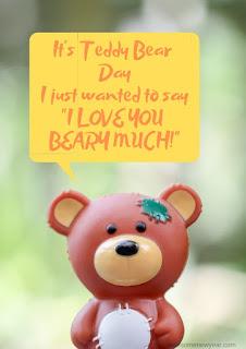 Happy Teddy day Whatsapp Status