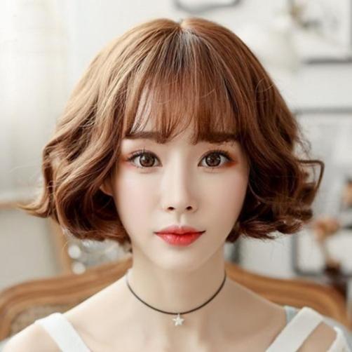 Những kiểu tóc ngắn uốn xoăn sóng nhẹ đẹp nhất 2019 - 2020