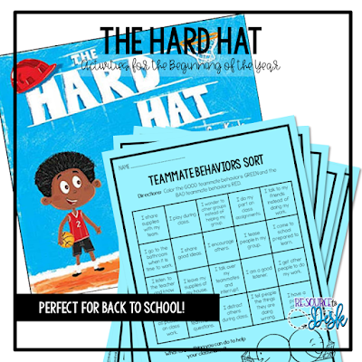 https://www.teacherspayteachers.com/Product/Back-to-Hard-Hat-For-Kids-Book-Unit-4712978?utm_source=www.resourcetodesk.com&utm_campaign=Back%20to%20School%20Books%20Blog%20Post