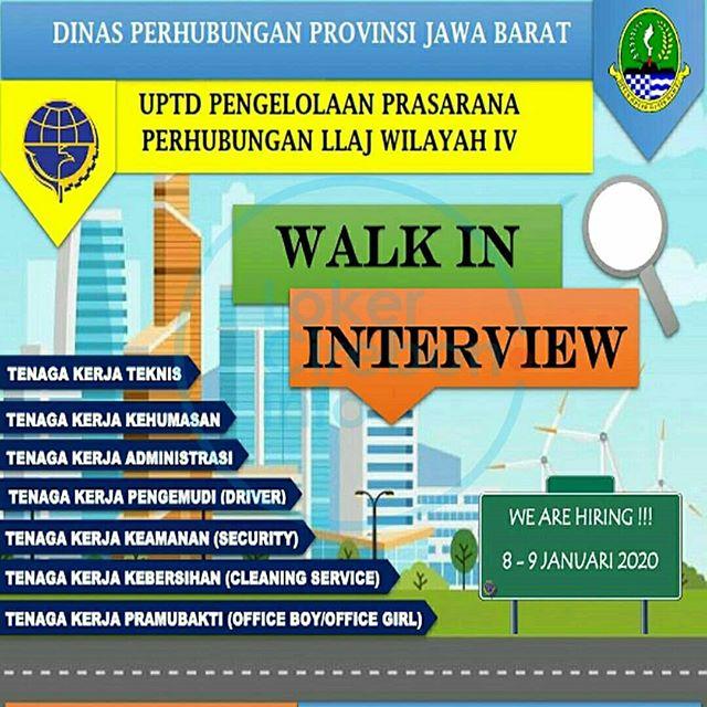 Lowongan Kerja Dinas Perhubungan Jawa Barat