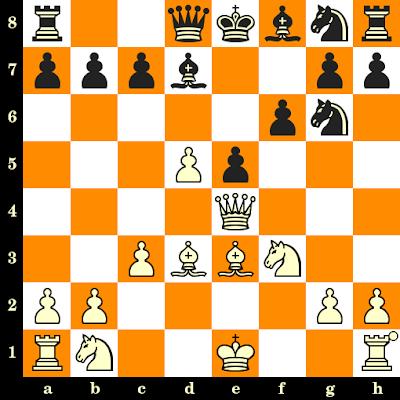Les Blancs jouent et matent en 3 coups - K Kunitz vs B Salamon, Tanger, 1907