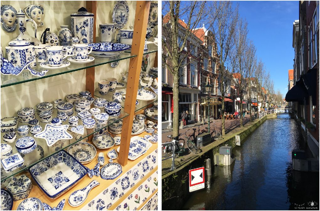 My Travel Background : les Pays-Bas clichés : les moulins de Kinderdijk & Delft - Delft