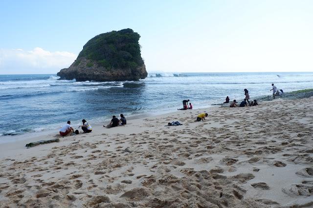 Pantai Ngudel Malang New Normal 2020