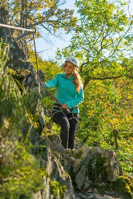 WesterwaldSteig 13. Etappe Flammersfeld – Horhausen | Klettersteig Hölderstein 10