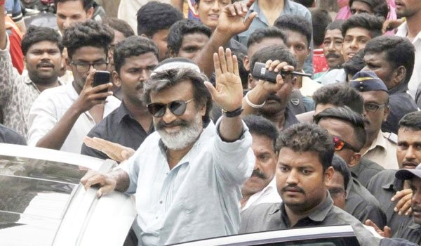 Rajinikanth Completes Shooting In Mumbai Portion of Kaala