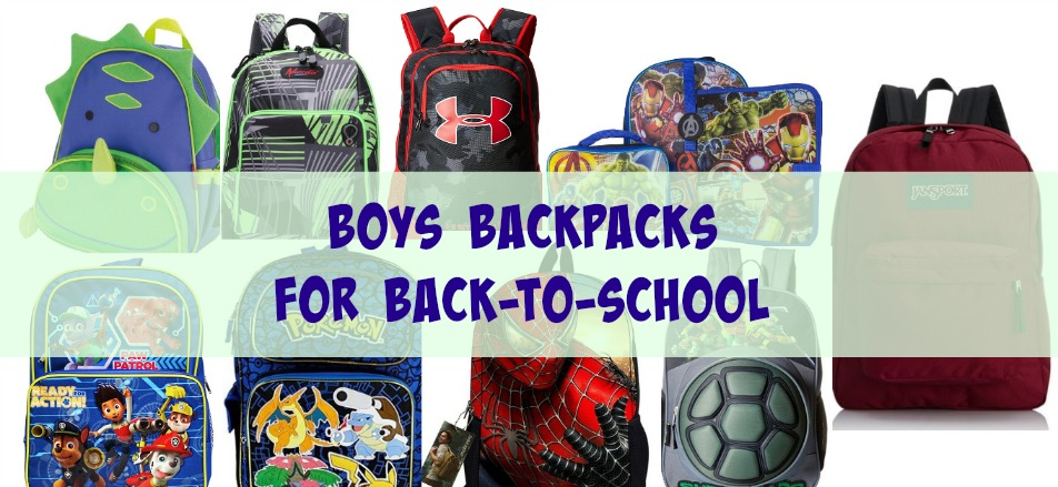 b884d50d8b Here is a list of 40 different backpacks for boys found on Amazon. Click  here if you are looking for Girls Backpacks.