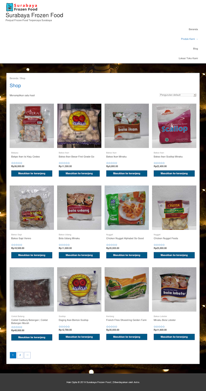 Beli Frozen Food di SurabayaFrozenFood