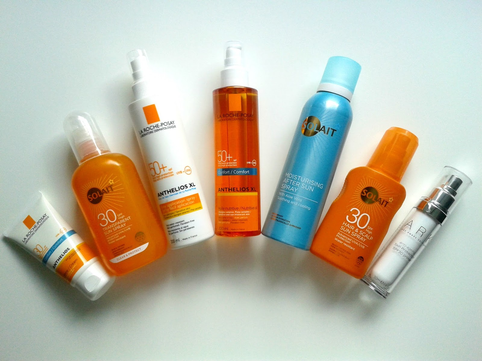 Ellis Tuesday's Summer Sun-days: Sun Protection La Roche-Posay Ark Skincare Superdrug Solait