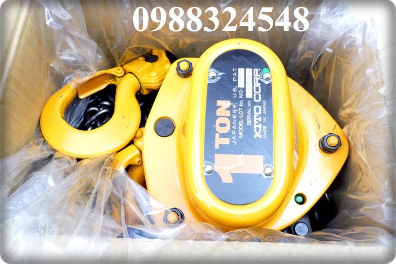 Pa lăng kéo tay Kito CB010 1000kg