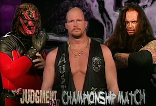 WWE / WWF Judgement Day 1998: In Your House 25 - Kane vs. Undertaker for vacant WWF title with Stone Cold as the guest referee