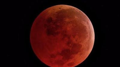 Berikut Urutan Fase dan Tahapan Gerhana Bulan Total yang  Akan Terjadi Hari ini