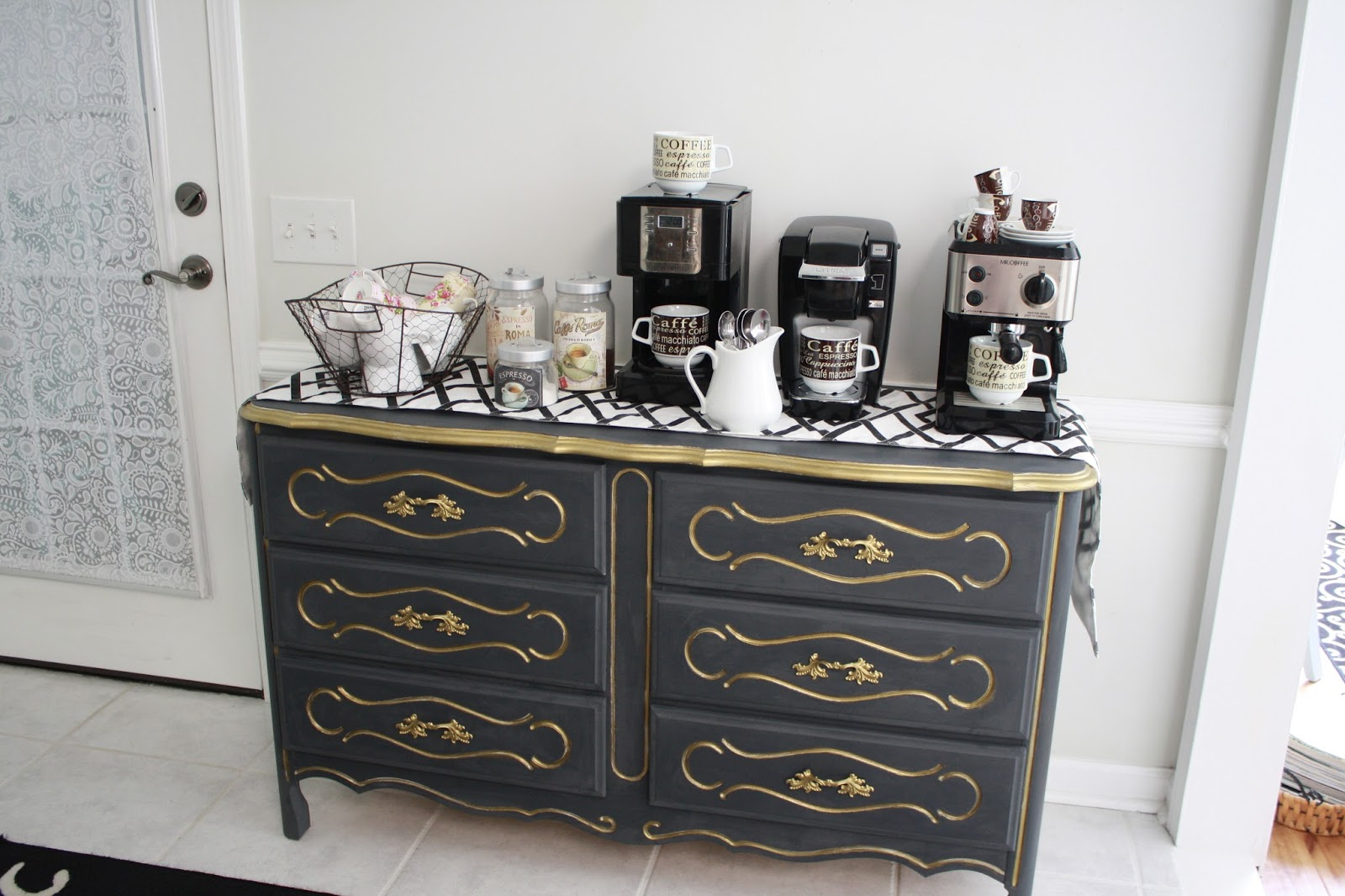 The Little White Cottage In The Woods Coffee Nook Revamped