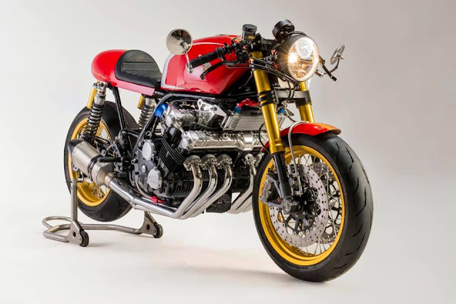 Honda CBX1000 By Mandrill Garage Hell Kustom