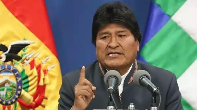 Evo Morales,Renuncia como presidente de Bolivia  tras casi 14 años en el poder