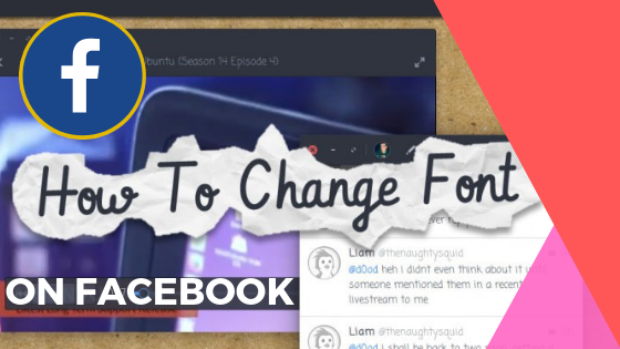 How To Change Font On Facebook<br/>