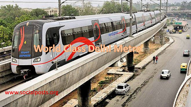 Map & App information of Delhi Metro Lines