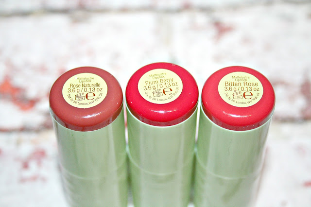 Pixi by Petra Lip Balms and Lipsticks