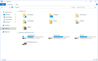 File Explorer - Windows 10