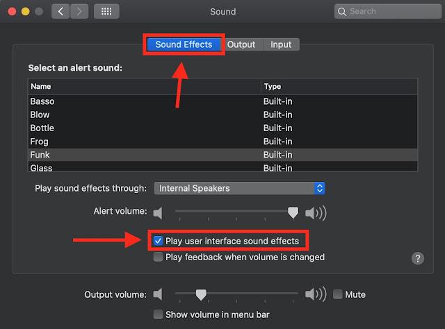 Mematikan Efek Suara Screenshot Dan Empty Trash MacOS