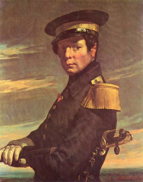Жан Франсуа Милле - Портрет морского офицера
